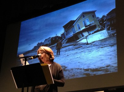 Naomi Klein speaks about the recent destruction of Sandy