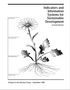Indicators and Information Cover Page