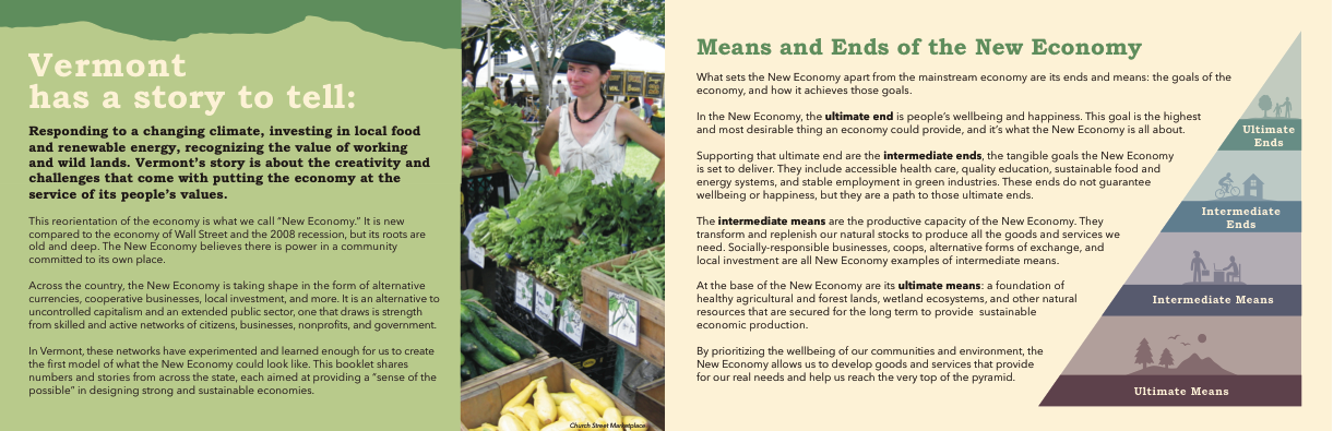 Vermont's New Economy Pages 1 and 2