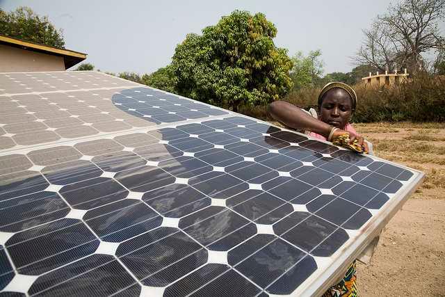 Solar Powered Drip Irrigation